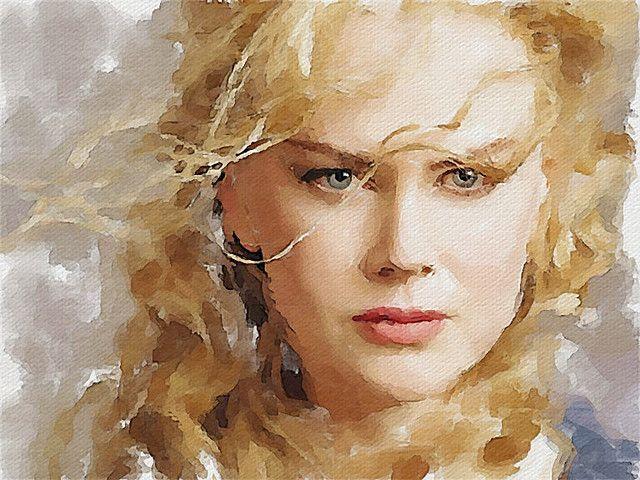 154 Nicole Kidman Watercolor Portraits Watercolor Portrait Painting