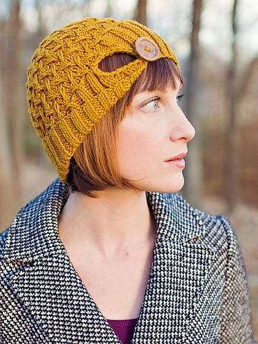 Ravelry: Farro Hat pattern by Carina Spencer
