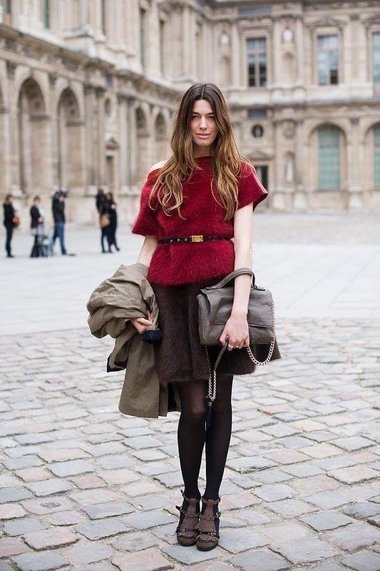 Vanessa Jackman: Paris Fashion Week AW 2011Erin