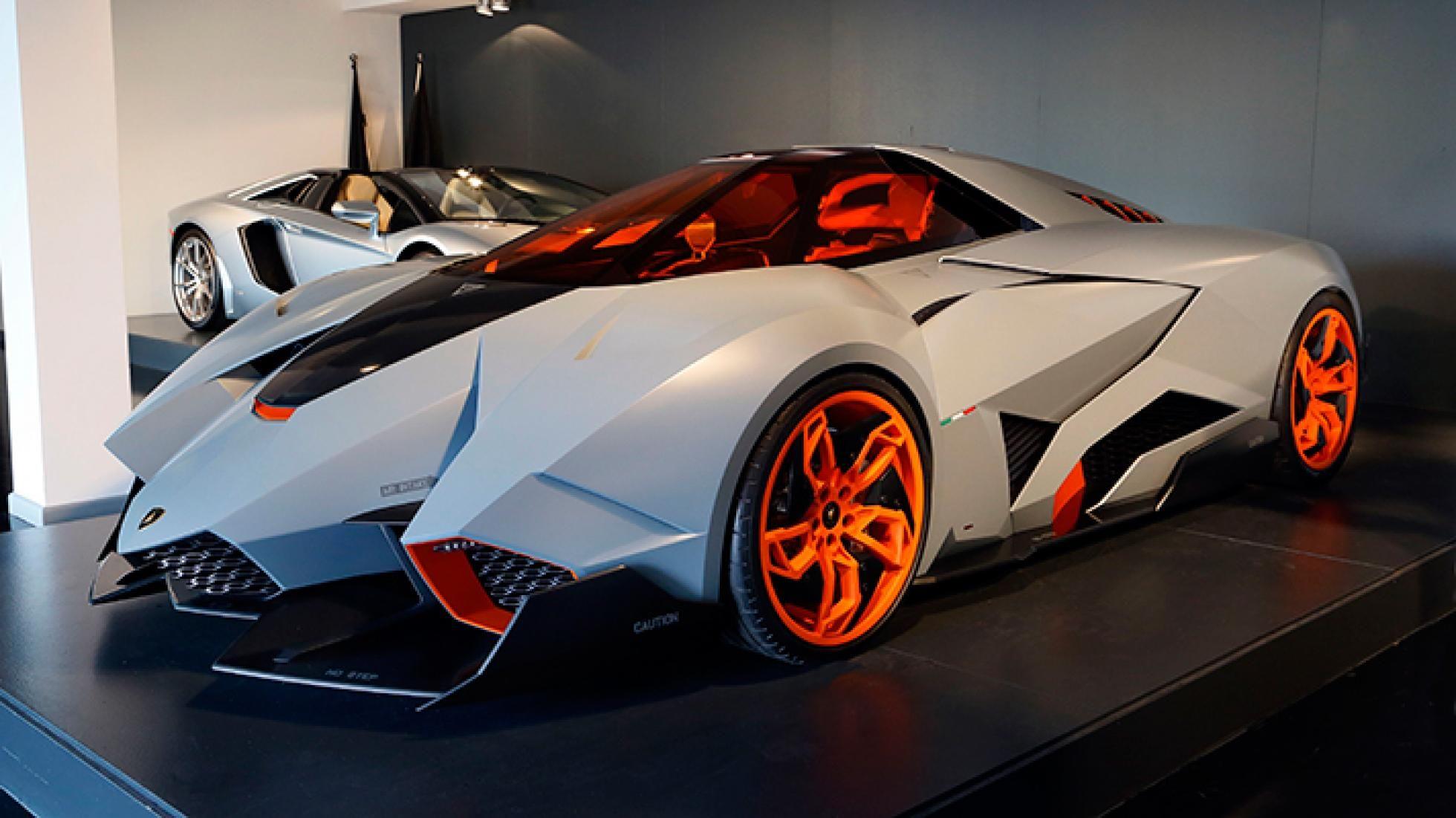 Incroyable Lamborghini Egoista: Now On Public Display | Top Gear