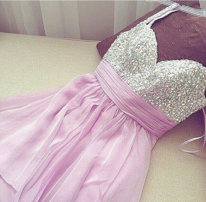 Purple Glitter Dress