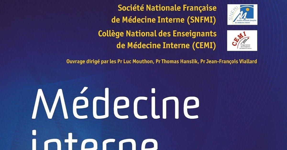 Telecharger Referentiel College De Medecine Interne 2e Edition En Pdf Medecine Interne College Medecine