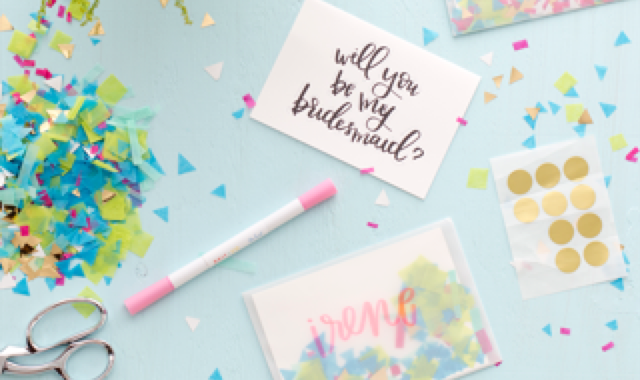 Free Bridesmaid 'Proposal' Kit from The Knot Wedding