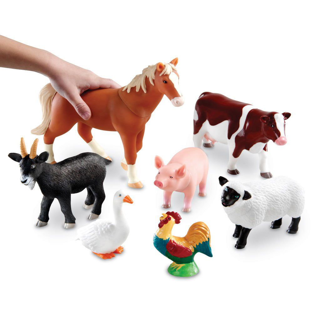 Learning Resources Jumbo Farm Animal Toys All For Xander Snap Circuits Sound Light Combo By Elenco On Barstons Childs Play
