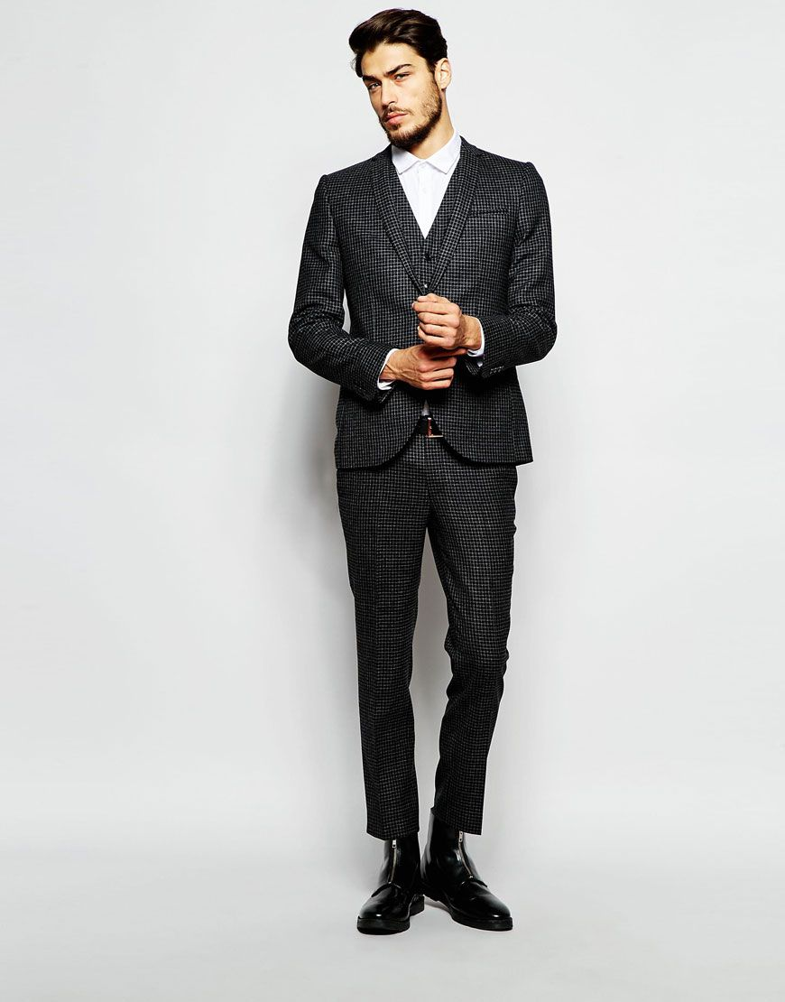 584baf6d25b9 Discover the range of men s wedding suits at ASOS. Shop for the perfect  wedding guest outfit with our range of smart and summer suits. Shop now from  ASOS.
