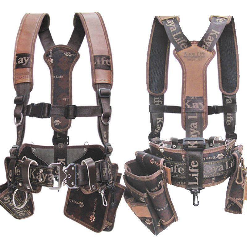 Tool Bags Belts And Pouches 42362 Original Kaya Life Kl 600 Work Belt Suspenders Drill Pouch Holder It Now Only 97 4 On Ebay
