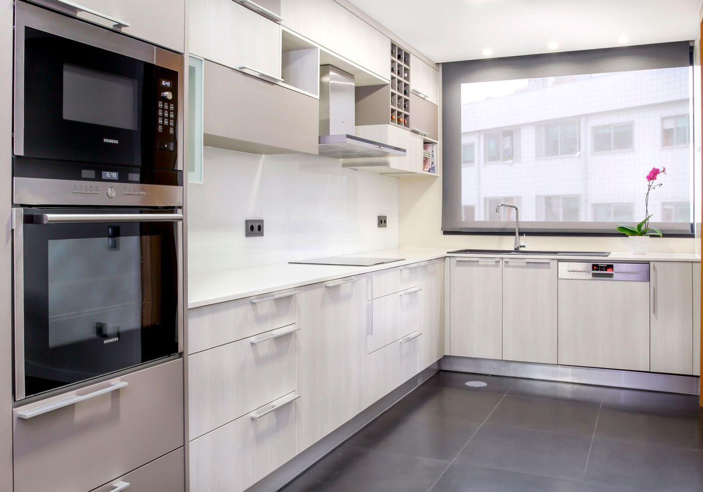Cozinha | Kitchen | White | Home | Interior | Design |