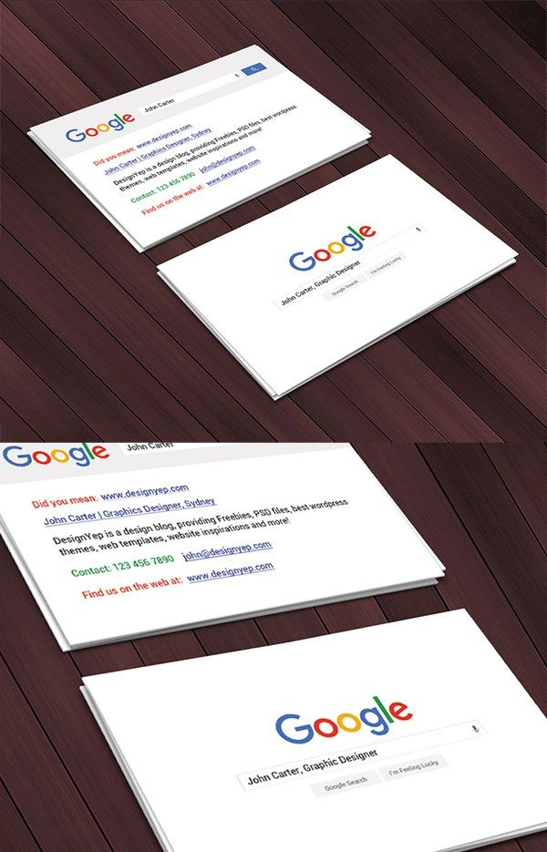 Free google interface business card business card pinterest free google interface business card flashek Gallery