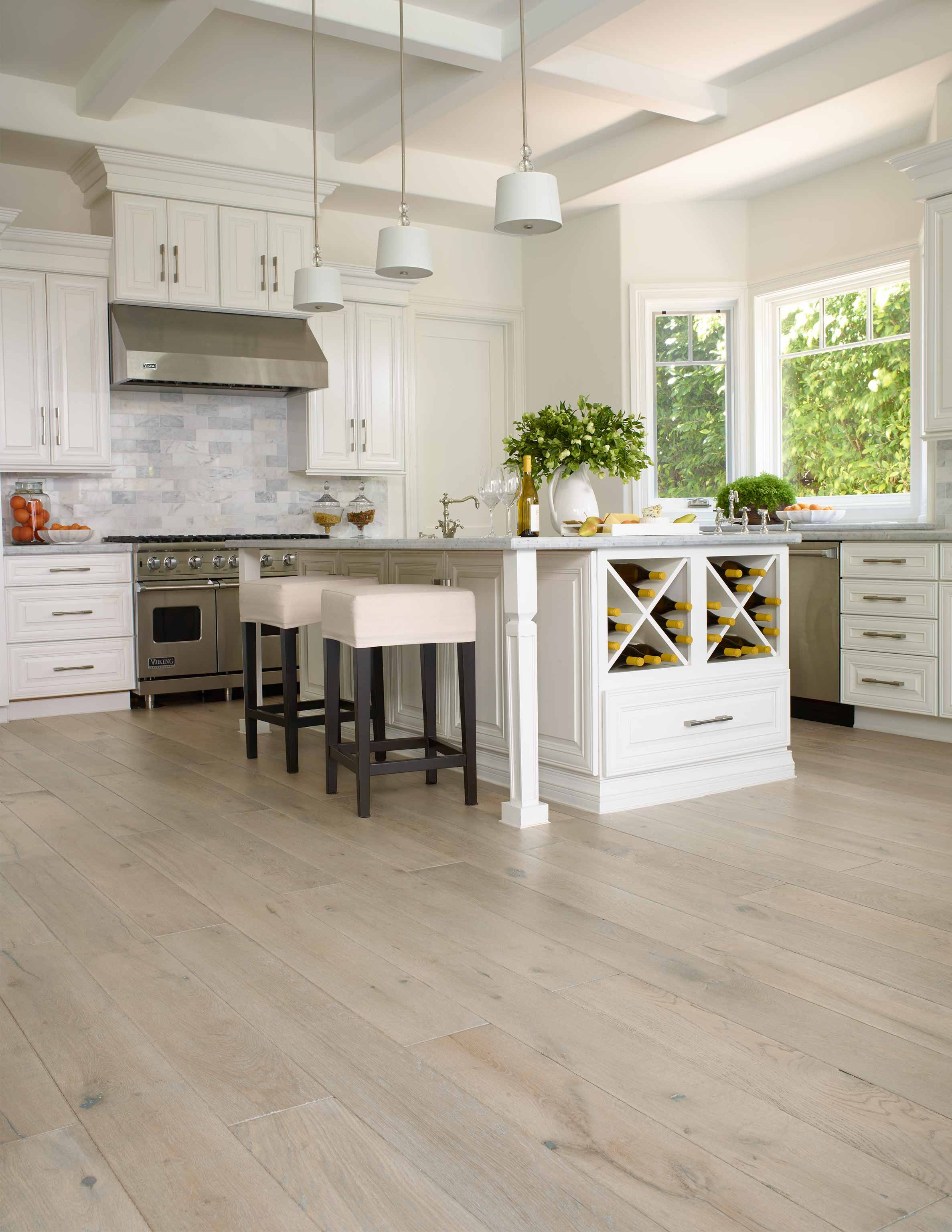 2 Tone Hardwood Flooring Versailles Mist French Oak