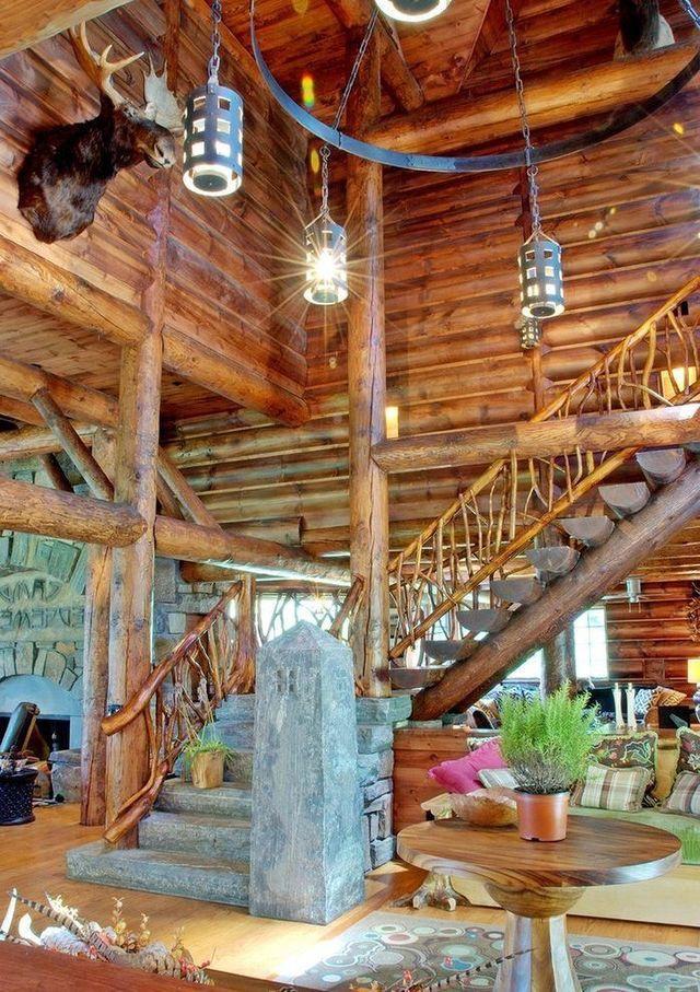 Chaleureuse Rustique Ferme Cabane Pour Hiver Maisons De Grange Ides La Maison Des Matriaux Construction Loges Cabanes En Bois