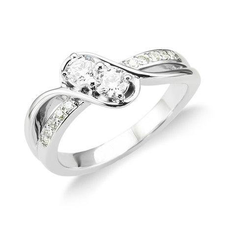 2Stone Anniversary Diamond Andrews Jewelers Buffalo NY