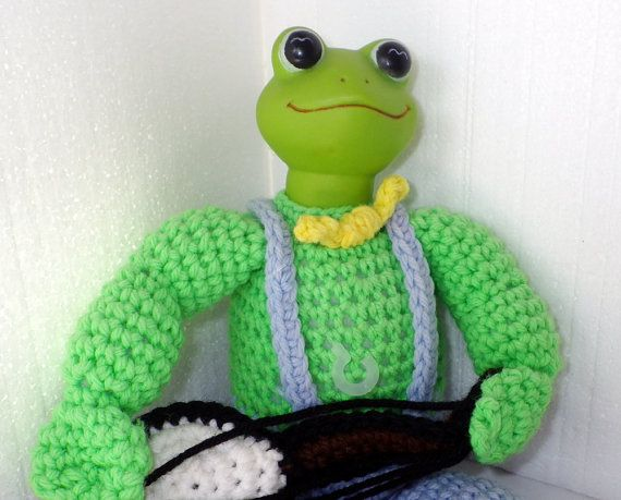 Kermit the Frog  in Jim Henson's Muppet Babies in by puraphernalia