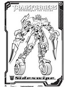 Sideswipe Coloring Page Coloring Pages Color Transformers