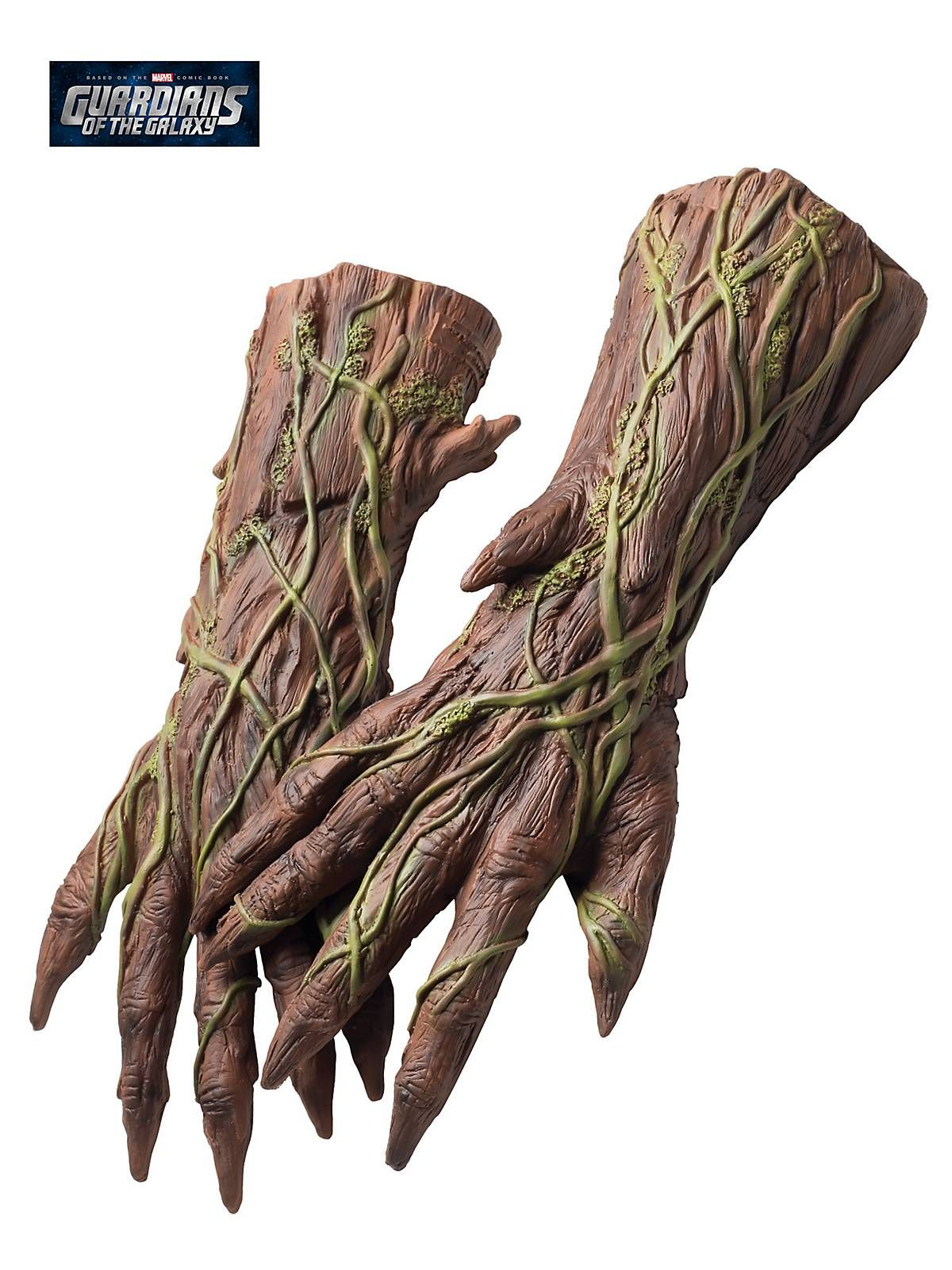 guardians of the galaxy deluxe groot hands see more costume accessories at costumesupercenter - Accessories For Halloween Costumes