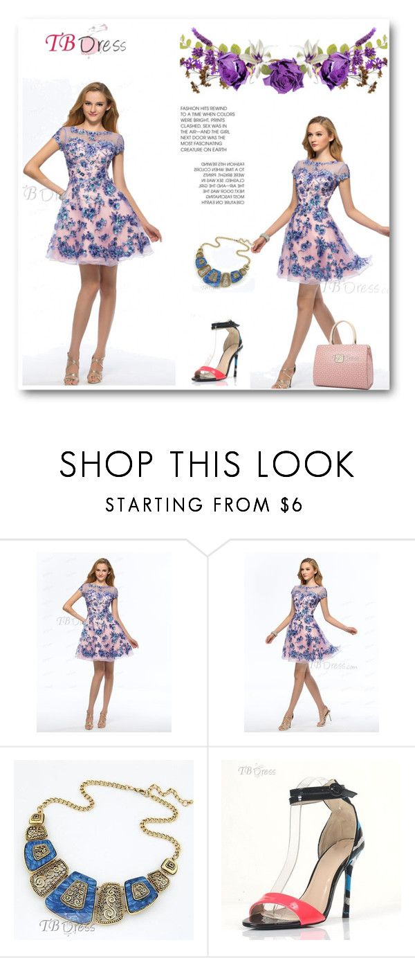 """""""TBDress 9"""" by ajdin-lejla ❤ liked on Polyvore featuring dress, clothes, women and tbdress"""