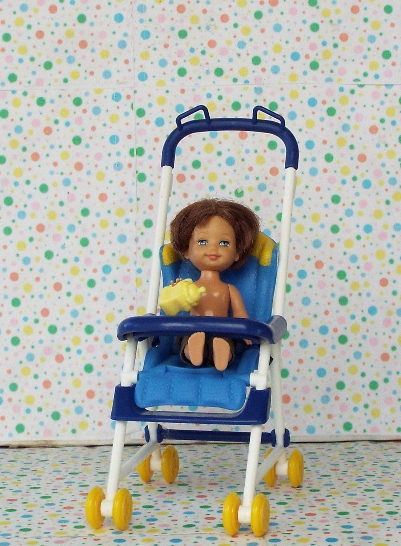 Barbie Happy Family Baby Ryan Stroller Set Barbie happy