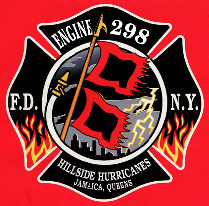 FDNY E298 Firefighter decals, Firefighter, Patches