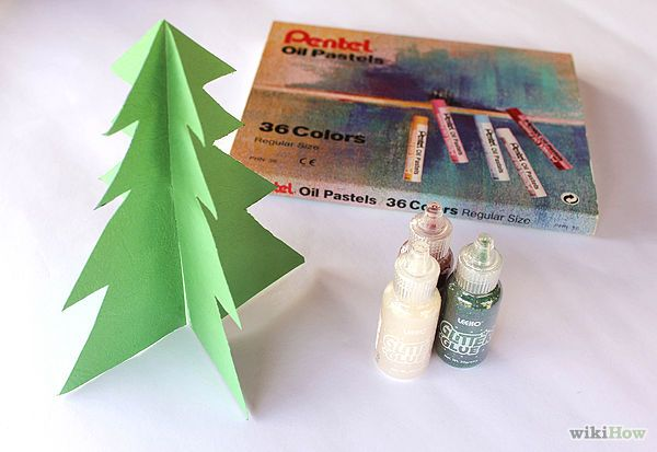 Make a Paper Christmas Tree Christmas tree, Paper trees and Holidays