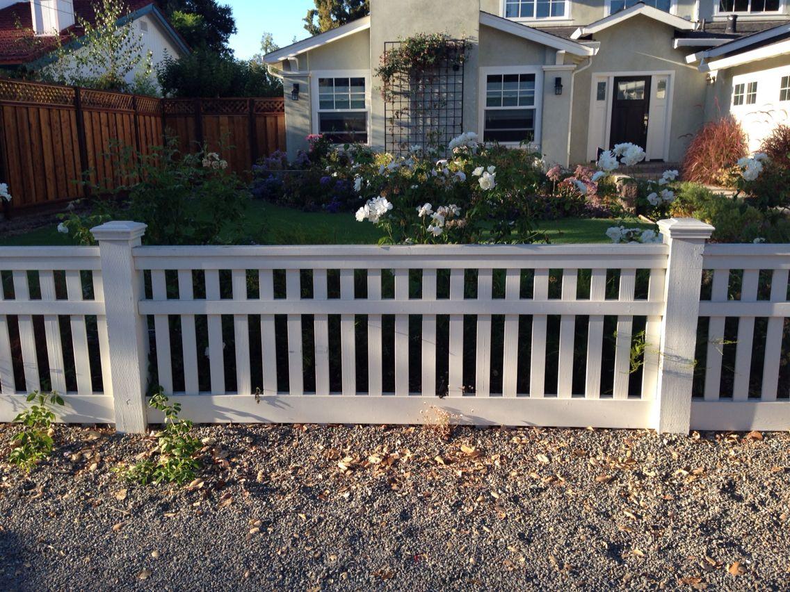 Simple 3ft Fence Backyard Fence Decor Backyard Fences Fence Design