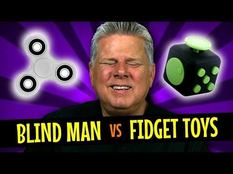Blind Man vs The Fid Spinner & Fid Cube
