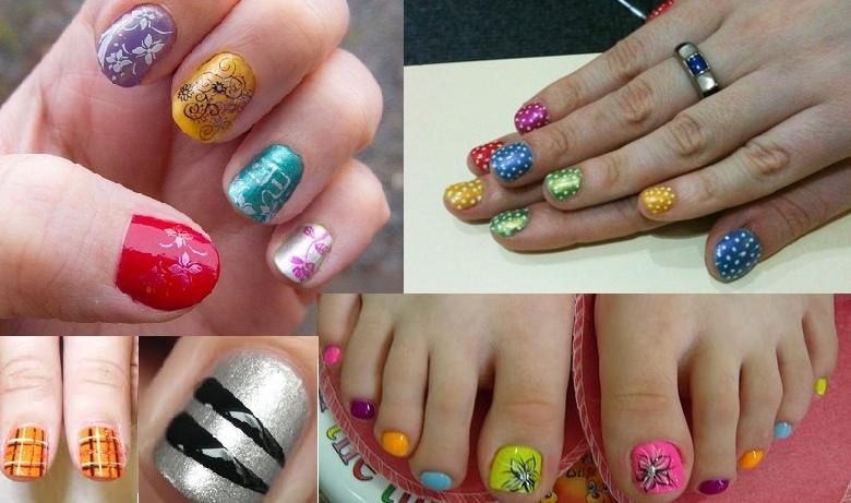 Funky Nail Art Short Nails | Nail Art | Pinterest | Funky nail art ...