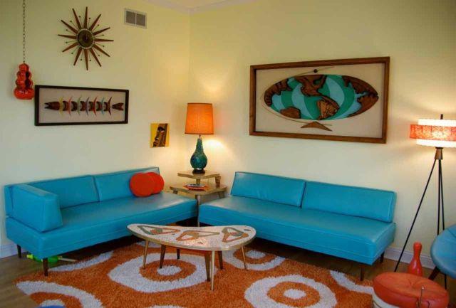 retro wohnideen modernes wohnzimmer mit retro akzente, retro wohnideen- modernes wohnzimmer mit retro akzente | pinterest, Design ideen
