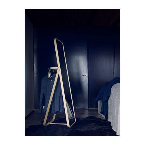 Standspiegel Ikea ikornnes standspiegel esche floor mirror bedrooms and