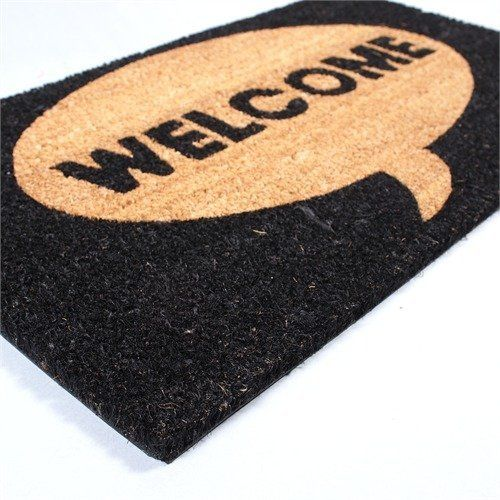 Big Door Mat Welcome Floor Coir Doormat African Flair From