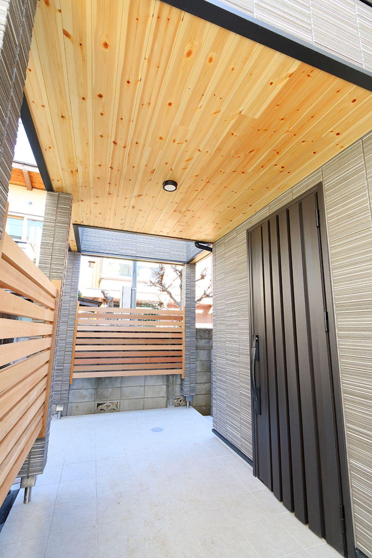 モノクロームの家 練馬区の家 F様邸 東京で注文住宅を建てるジェネシス