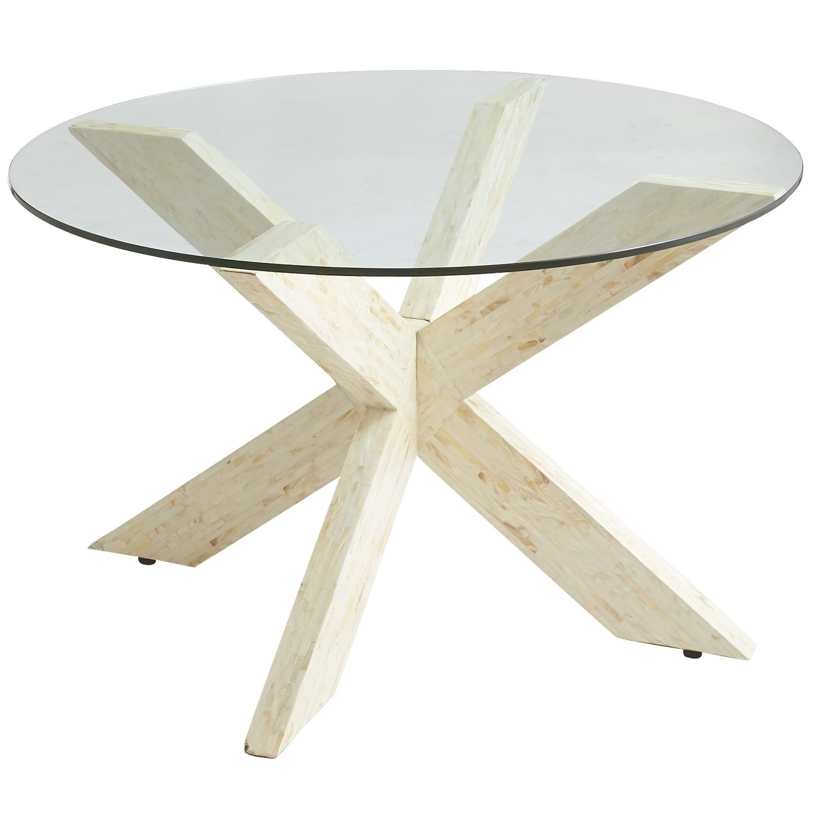 A X Marks This Modern Treasure With Sleek Lines And Mother Of Pearl Finish Base Definitely Has Wow Factor 30 Gl Top Sold Separately
