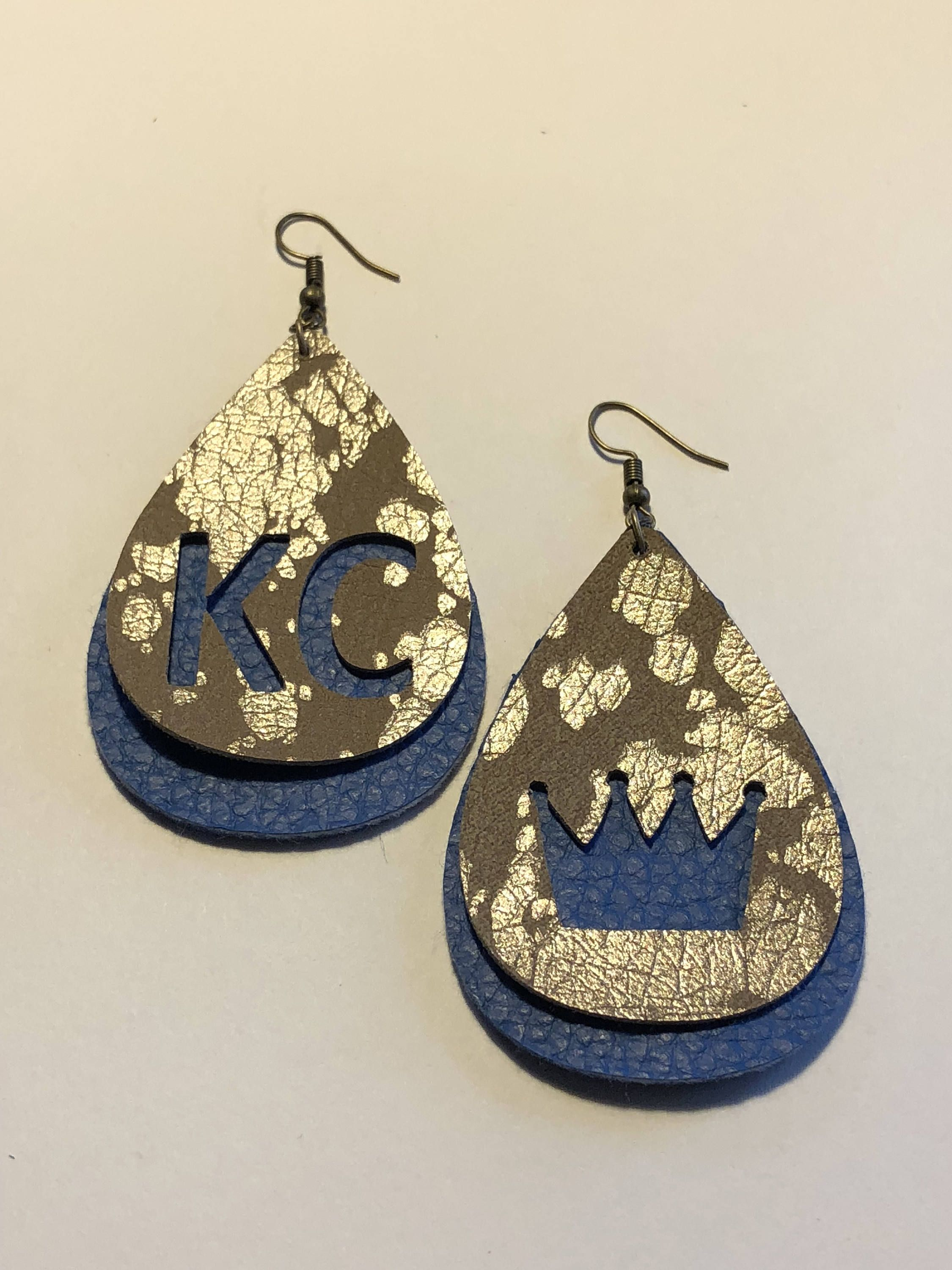 Excited To Share The Latest Addition My Etsy Kc Leather Earrings