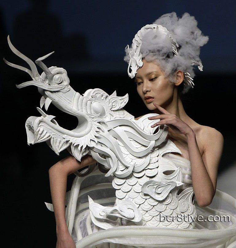 Highlights from china fashion week 2012 beijing wedding for Xuming haute couture