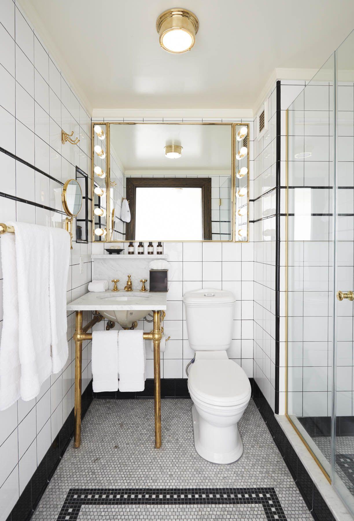 Bathroom At The Ludlow Nyc Luxury Hotel Room Small Bathroom