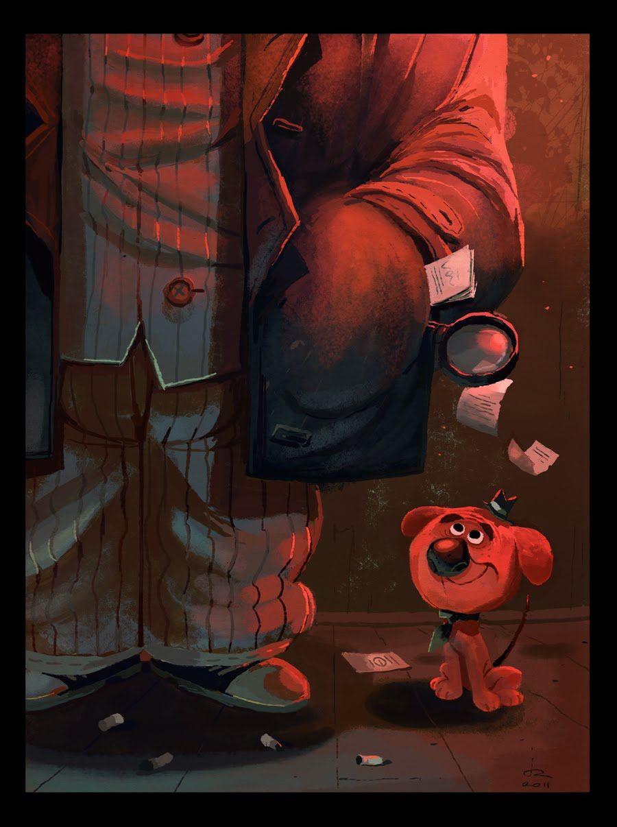 """La Kaisse au Kat, by Julien Rossire, """"Baliboo a Detective dog"""""""