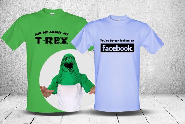 Comedy or Retro T-Shirts