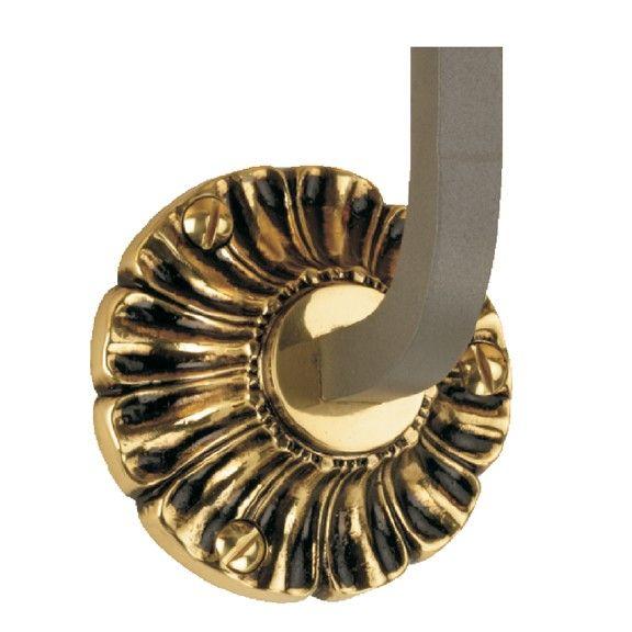 Best Steel Handrail Bracket With 3 1 2 Dia Scalloped Brass 400 x 300