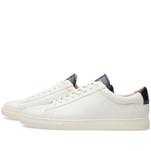 75d8a35203ebd3 Zespa ZSP4 Sneaker (Off White & Navy Nappa) | Wanted | Sneakers ...