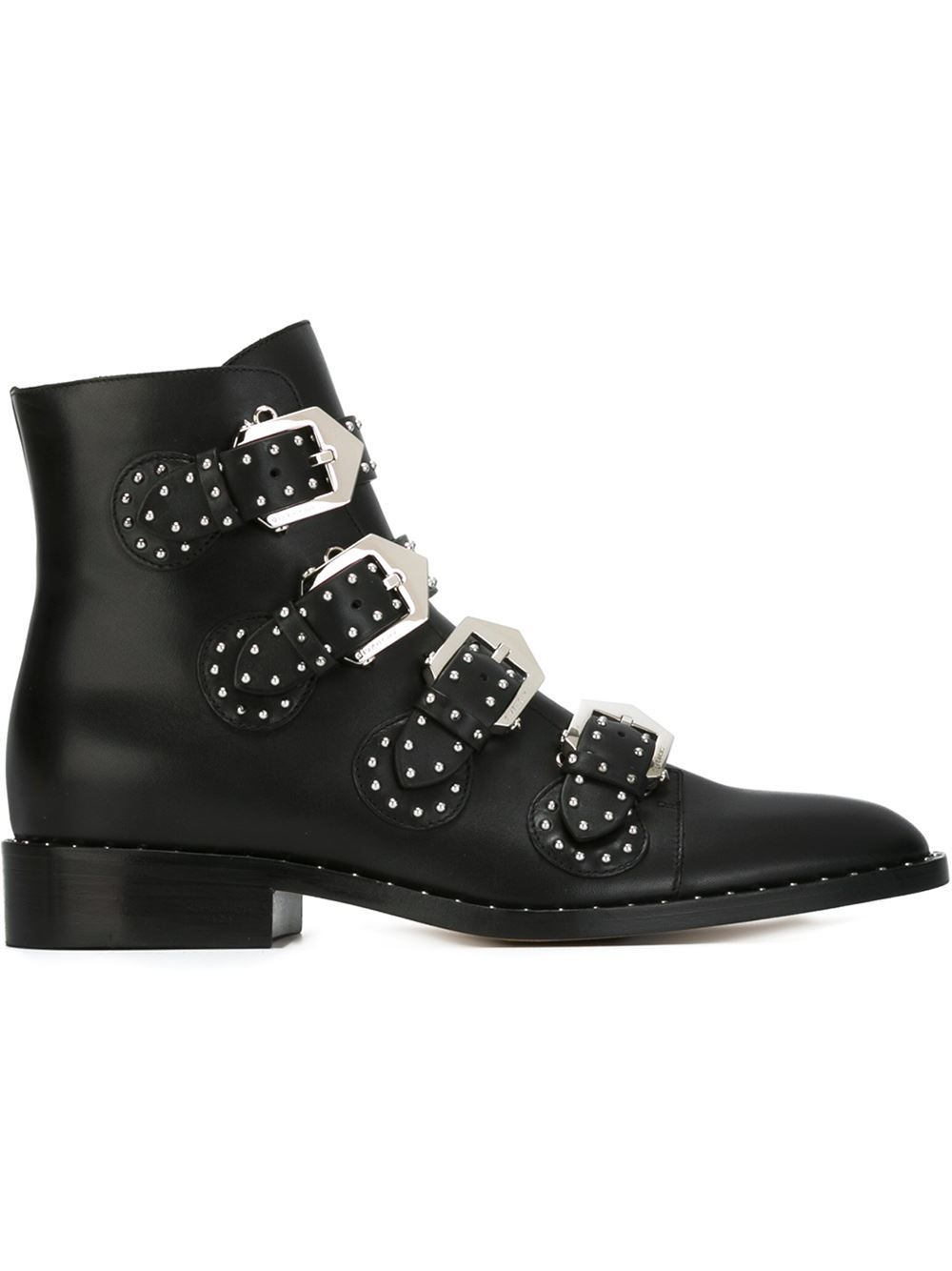 Women - Givenchy Buckled Ankle Boots - Tessabit.com – Luxury Fashion For  Men and Women  Shipping Worldwide dddcf30074