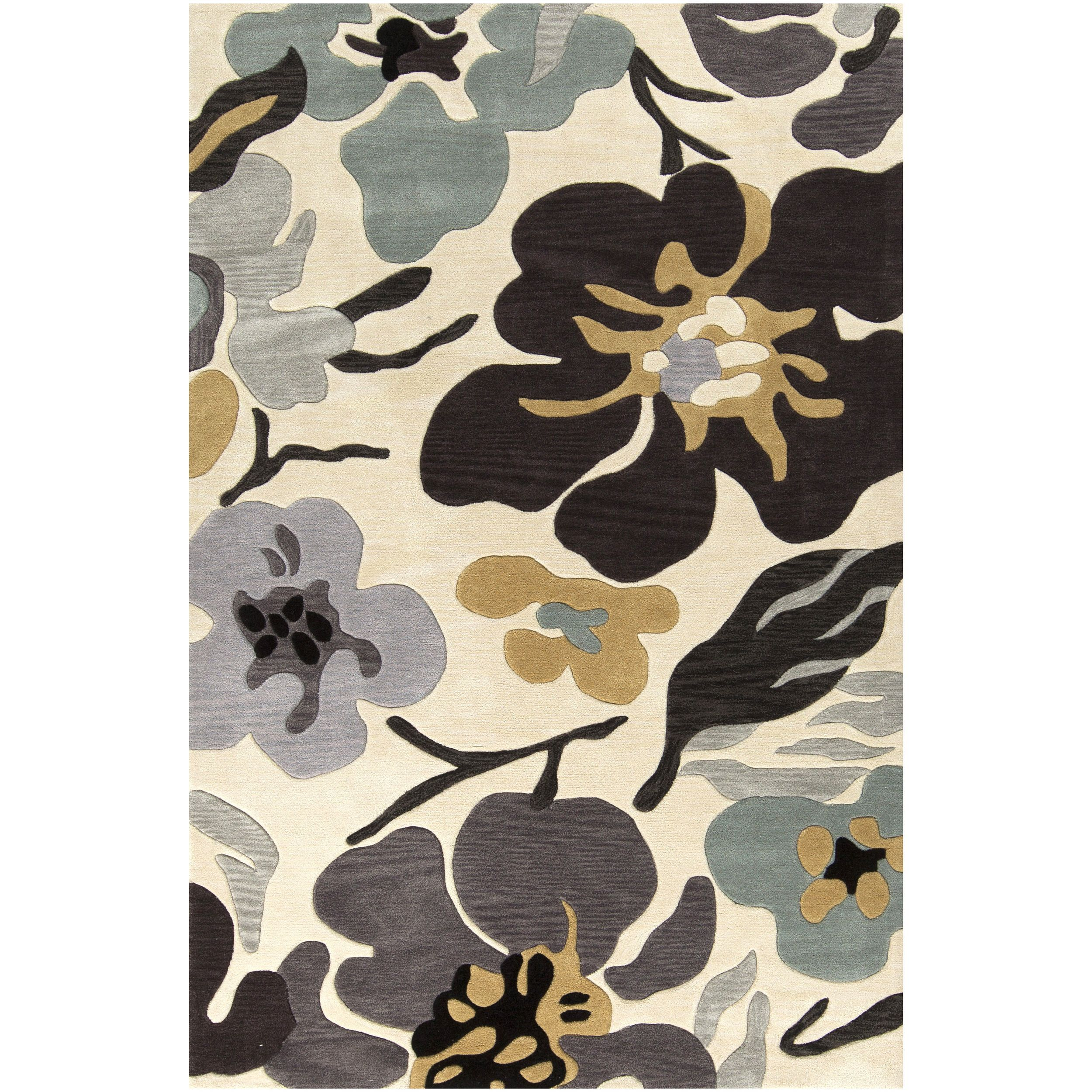 Hand-Tufted Moncia Pattern Rug