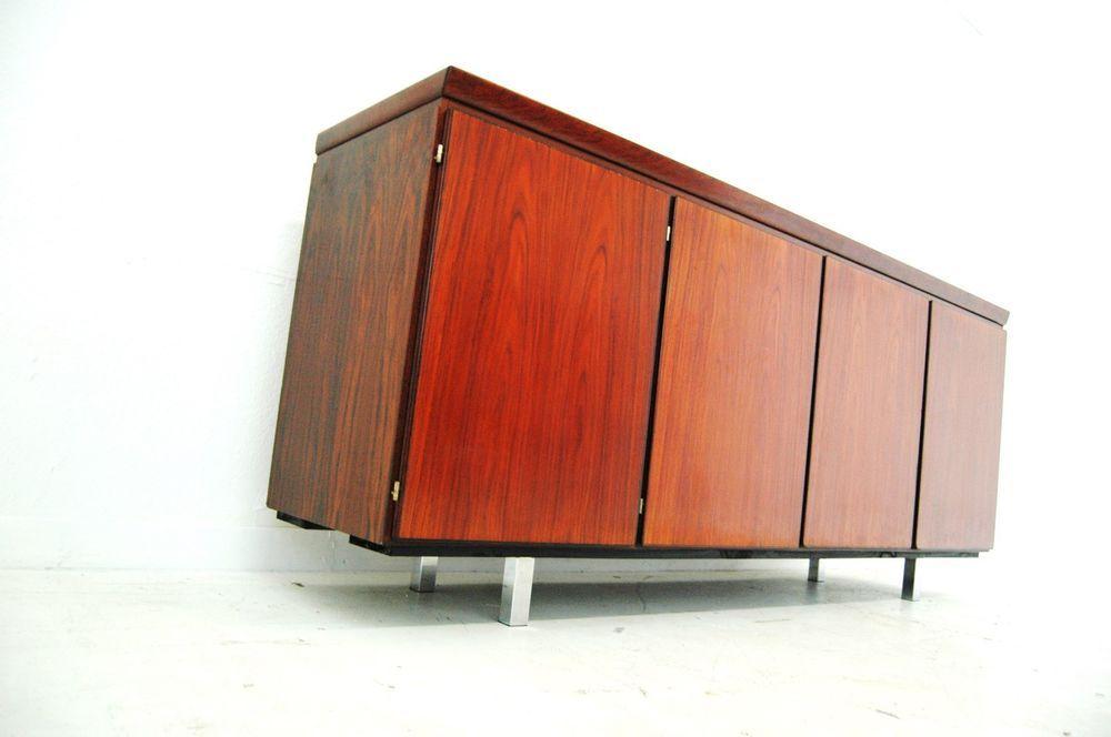Danish Rosewood Credenza : Maurice vallency furniture danish modern rosewood credenza by for