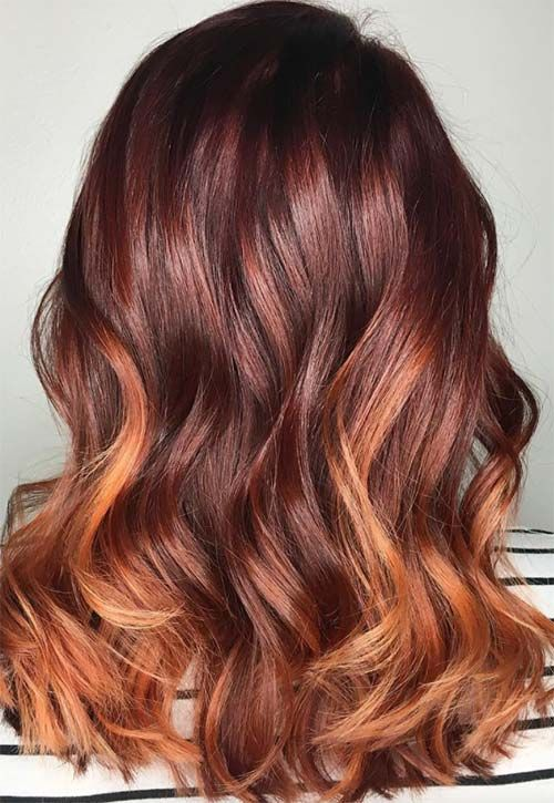 50 Copper Hair Color Shades to Swoon Over | Copper hair, Hair ...