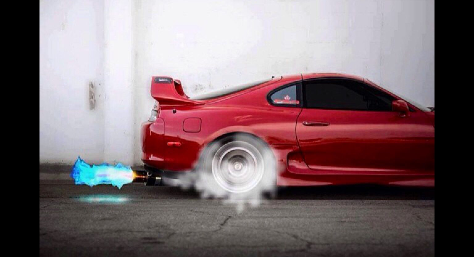 Etonnant Explore Toyota Supra, Japanese Cars And More! Blue Fire Back Fire  Supra