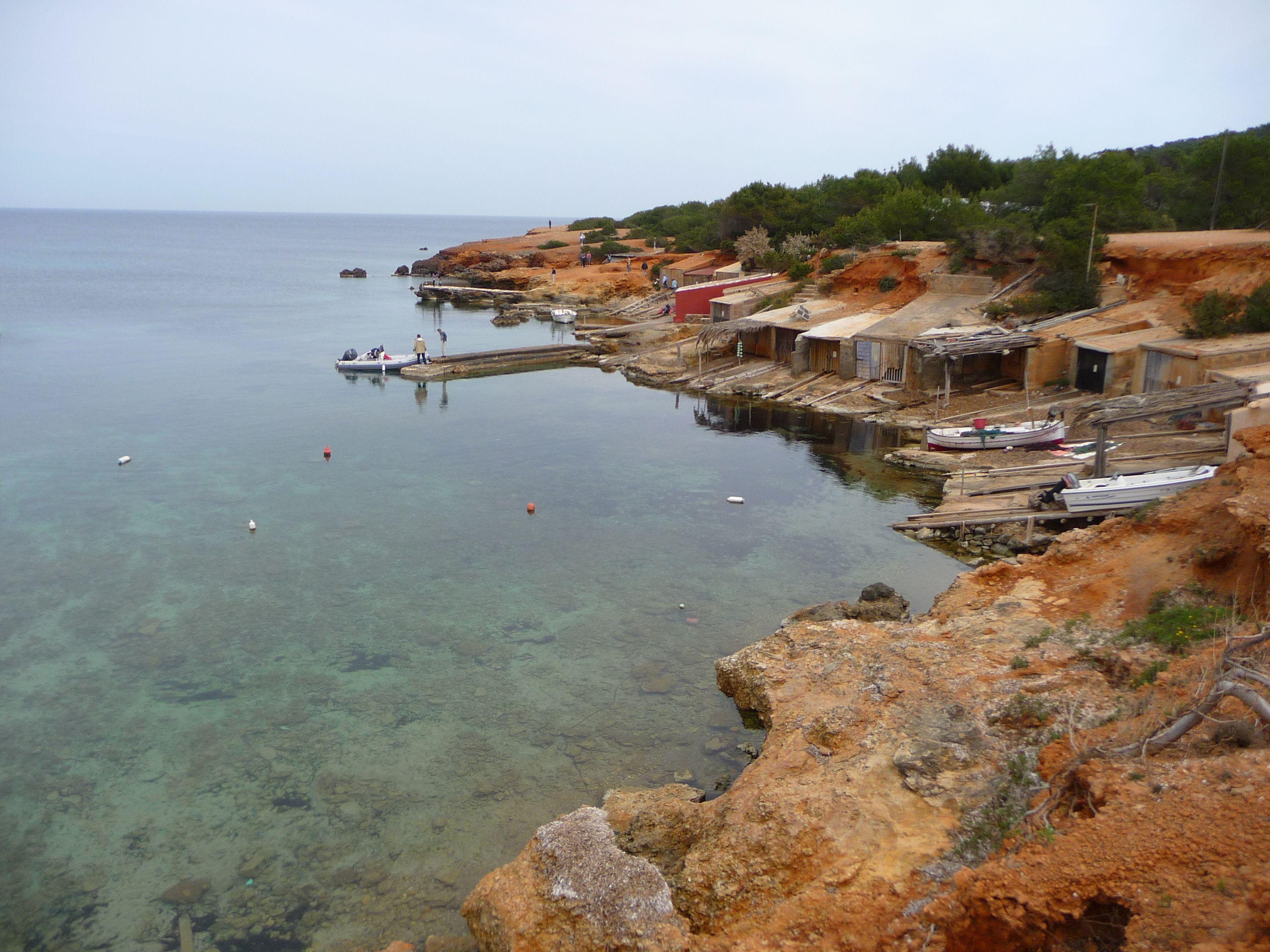 Boat Yard near Santa Eulària des Riu, Ibiza, Spain