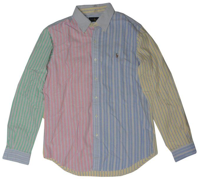Polo Ralph Lauren Mens Long Sleeve Button Down Oxford Shirt - This ...