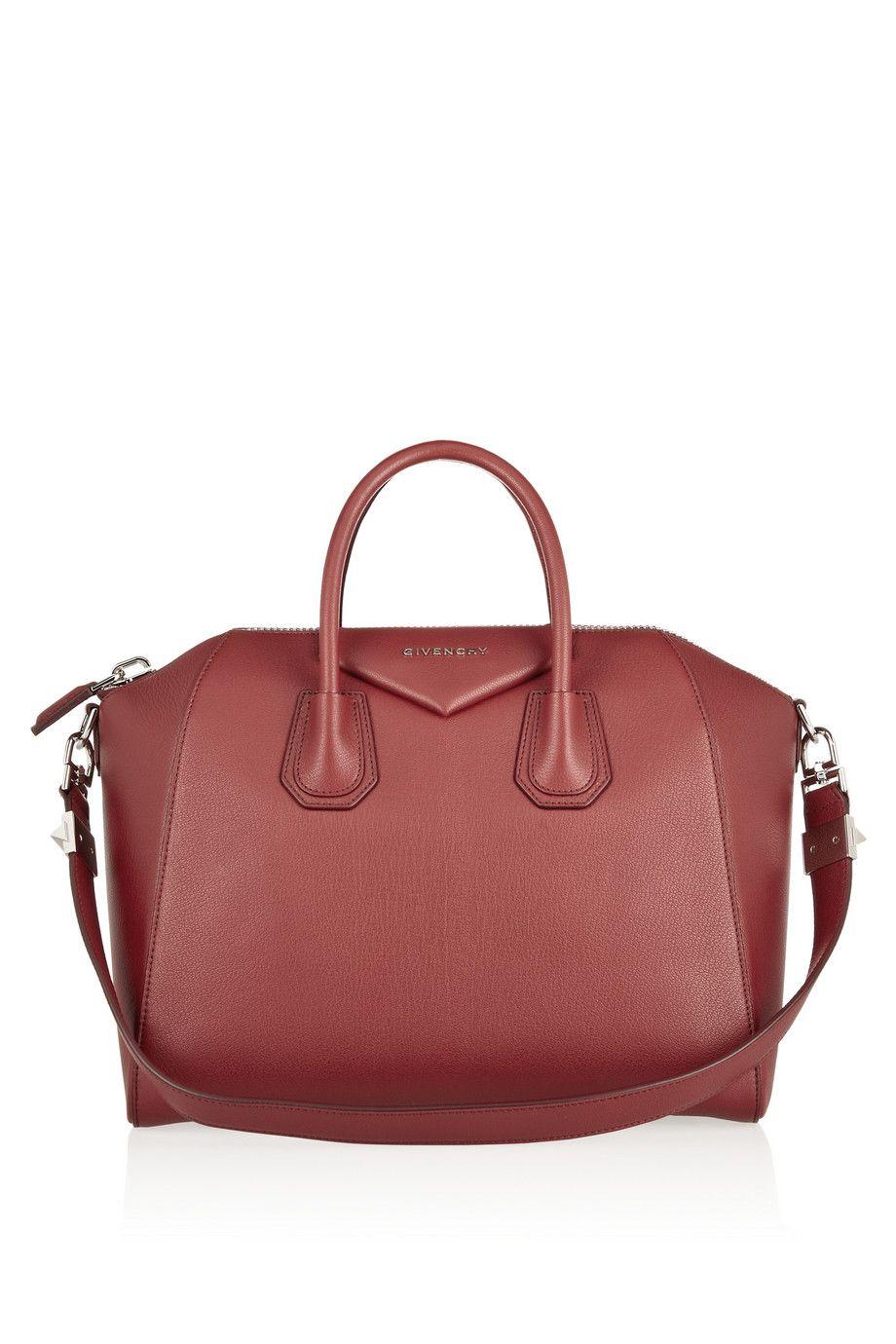 f73abd01b1d Givenchy   Medium Antigona bag in claret leather   NET-A-PORTER.COM ...