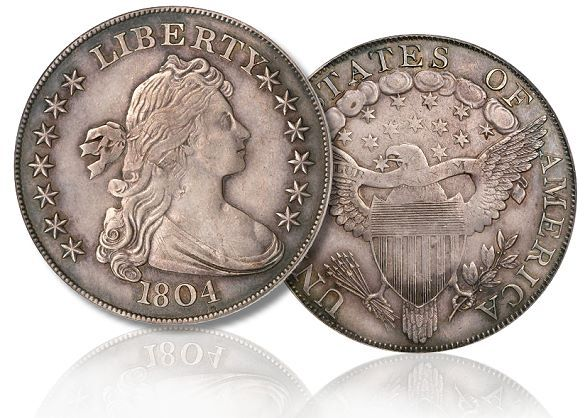 The 1804 United States Silver Dollar Valuable Coins American Coins Rare Coins