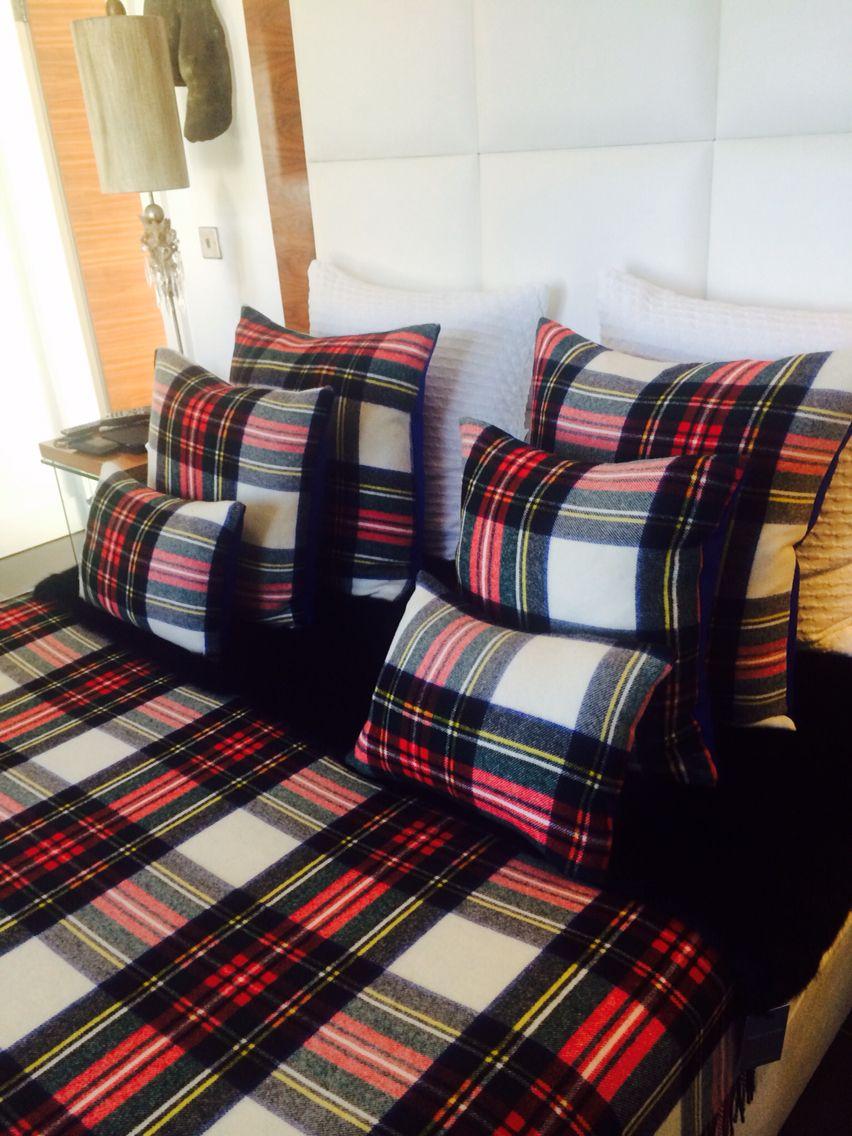 Dress Stewart Tartan Bedding By Queen B In 2020 Bed