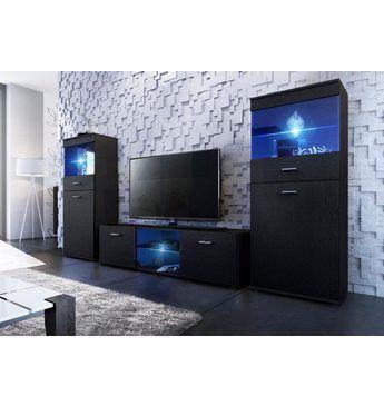 TV-Wand, Made in Germany (3tlg) Jetzt bestellen unter