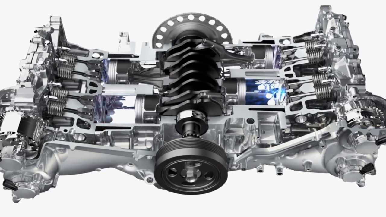 The SUBARU BOXER® engine was designed for balance, performance, efficiency  and longevity.