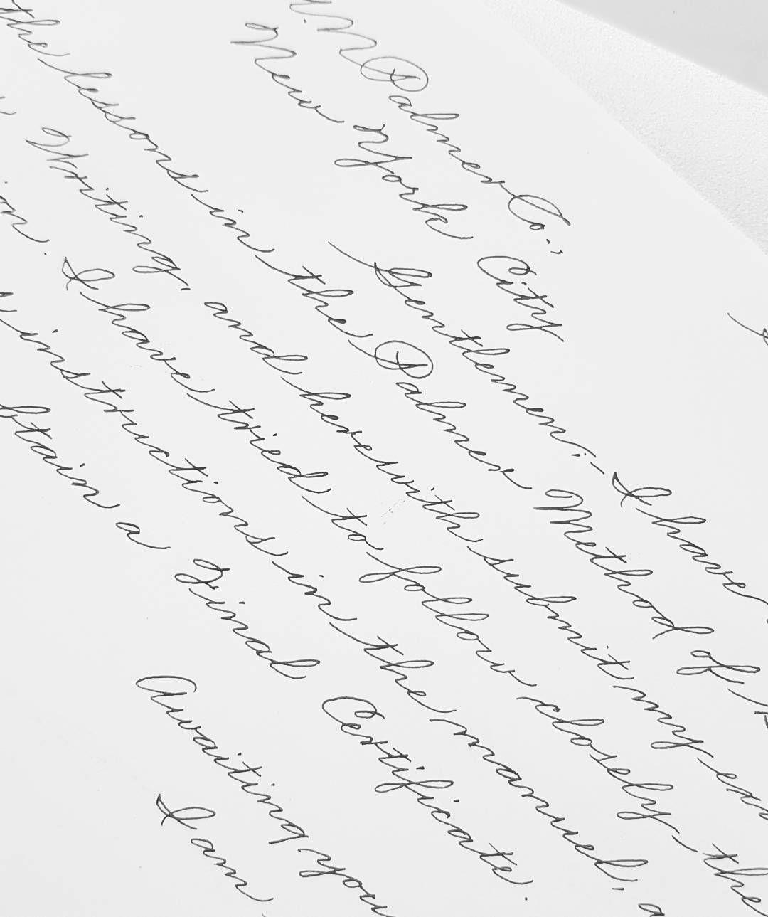 Business Writing By F E L I C I A T A N Felicalligraphy